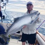 Coho Salmon Fishing in Muskegon