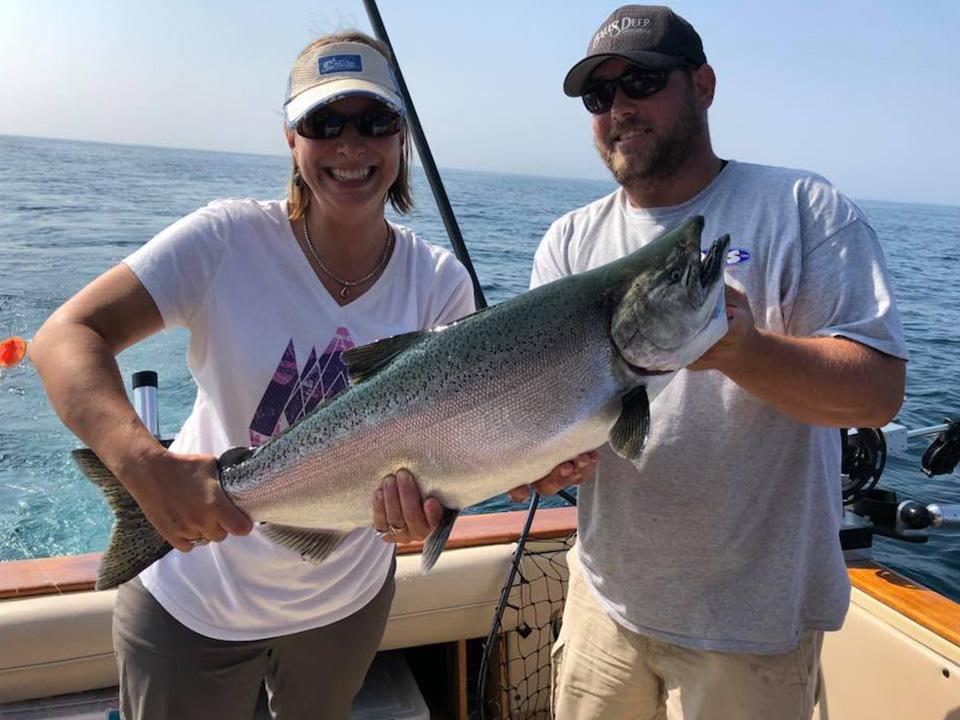 Fishing in Muskegon