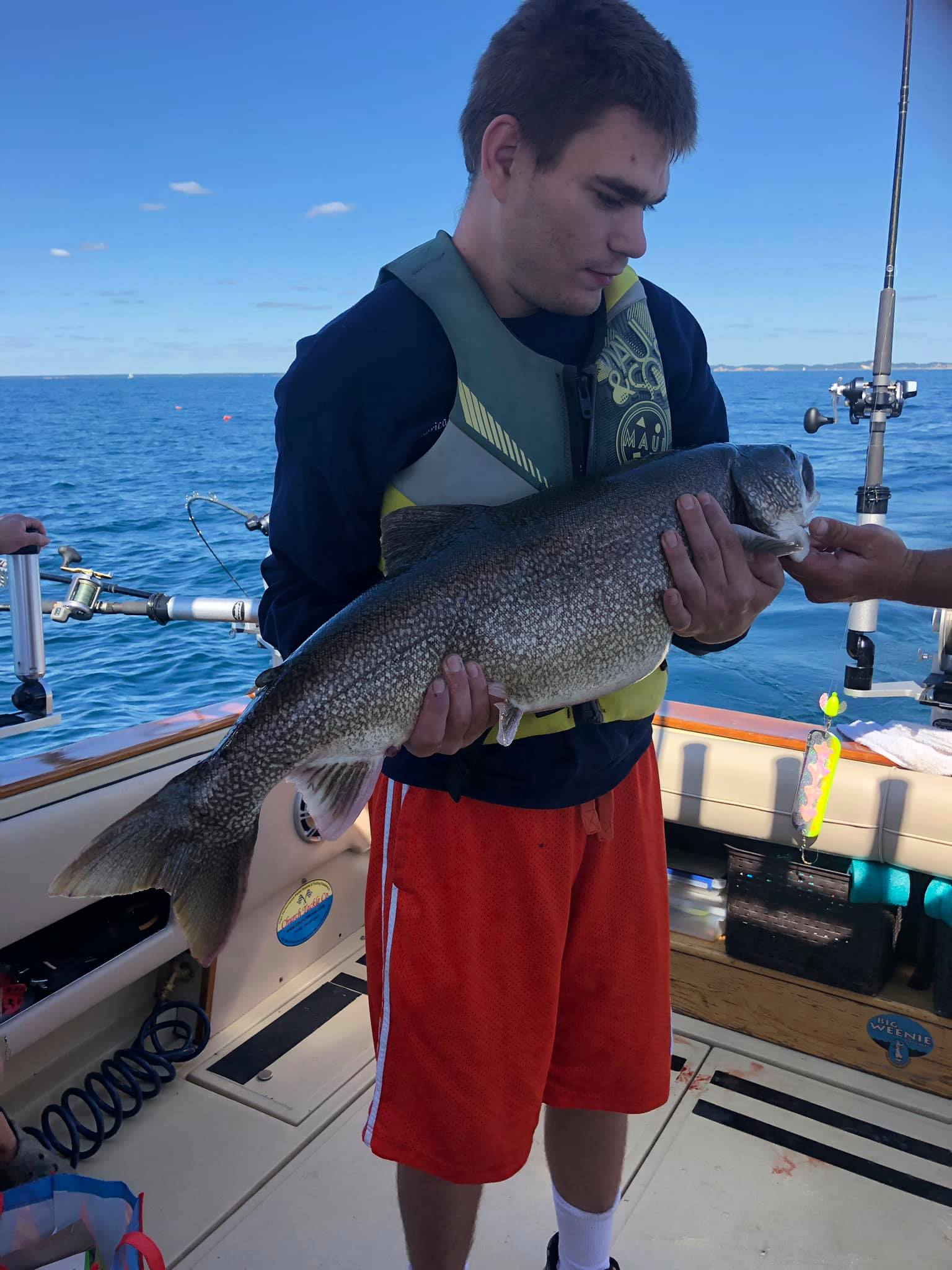 Trout Fishing in Muskegon and Michigan Lake